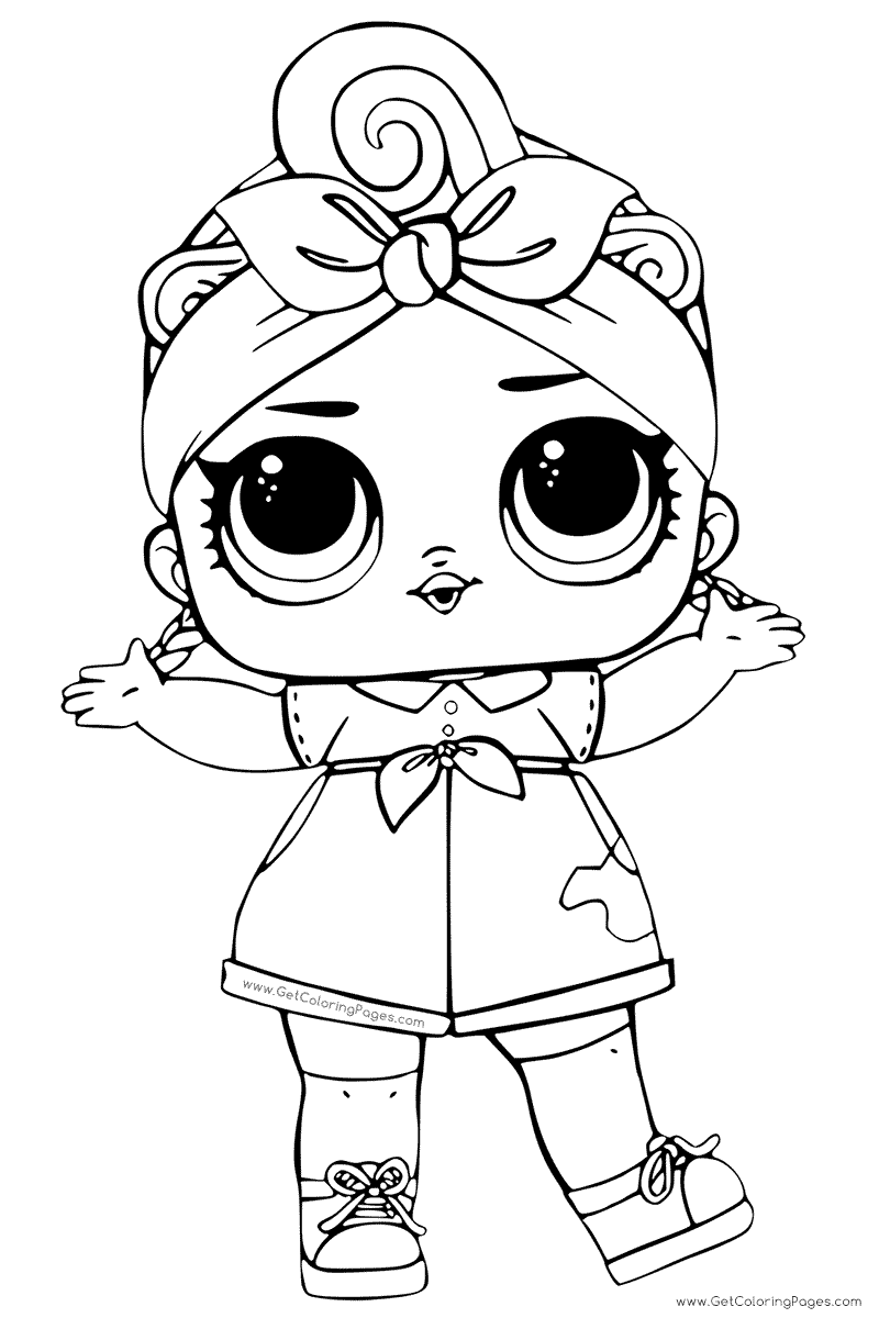 lol doll coloring lesson coloring pages for kids coloring - Basic Coloring Pages