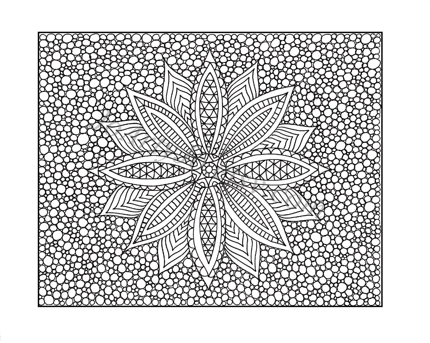 pattern adult coloring lesson - Free Printable Patterns To Colour