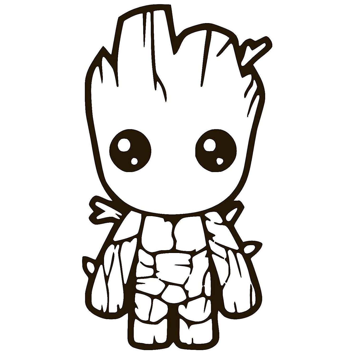Baby Groot Coloring Lesson | Kids Coloring Page