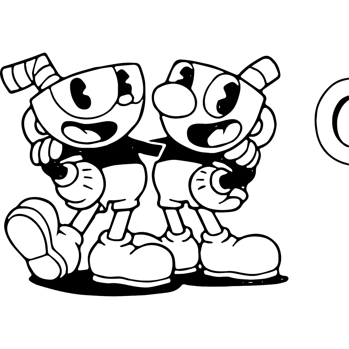 cuphead coloring pages | Cuphead Coloring Lesson | Kids Coloring Page – Coloring ...
