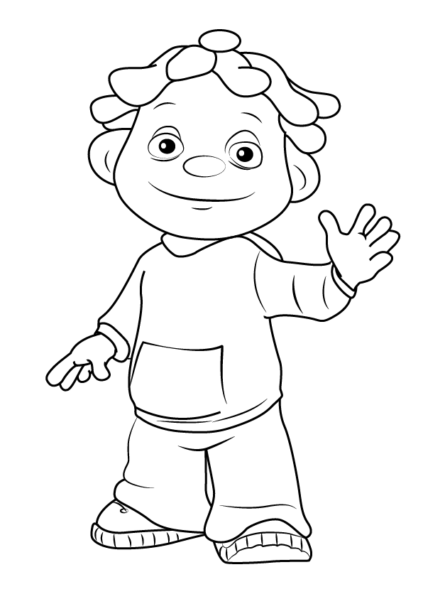 sid the science kid coloring lesson