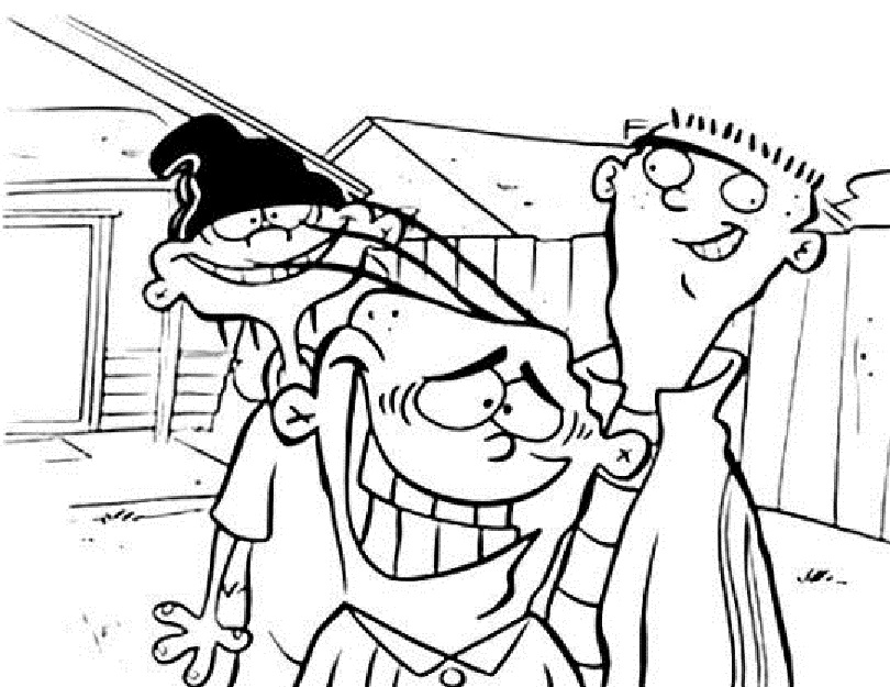Ed, Edd n Eddy Coloring Lesson | Kids Coloring Page – Coloring ...