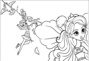 Thumbelina Coloring Lesson | Kids Coloring Page